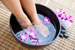 Voetreflexologie, voetmassage