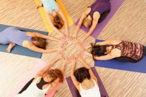 Yoga teambuilding