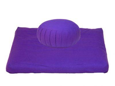 Zafu en meditatiekussen mindfulness yoga