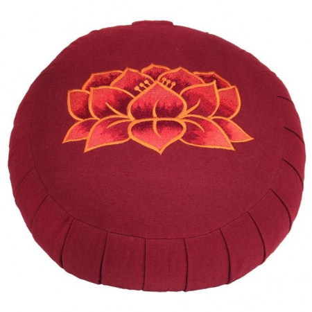 Zafu Lotus rood