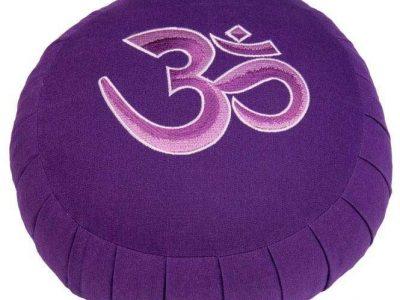 Zafu Ohm paars meditatie mindfulness